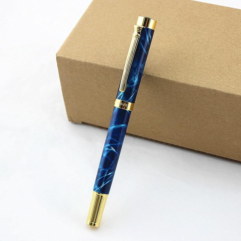 Роскошная шариковая ручка, школьные подарочные ручки, письменные принадлежности, офисные принадлежности, металлическая шариковая ручка дл...