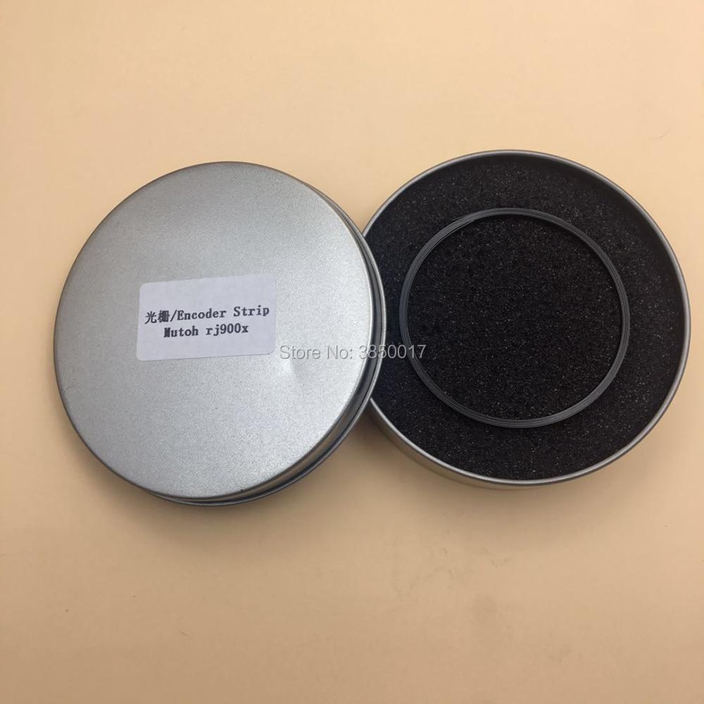 Cinta codificadora para Mutoh rj-900x rj900x 900x impresora plotter ráster sensor codificador de tiras de película con agujero de impresión de inyección de tinta tipo grueso