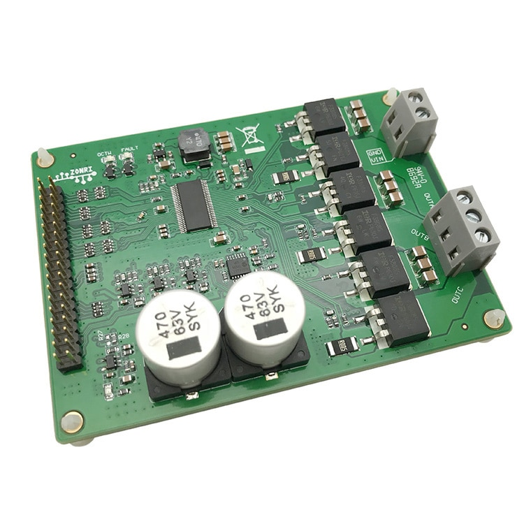 وحدة محرك عالية الطاقة DRV8301 ، وحدة تحكم في ناقل الحركة ST FOC ، محرك بدون فرش/PMSM