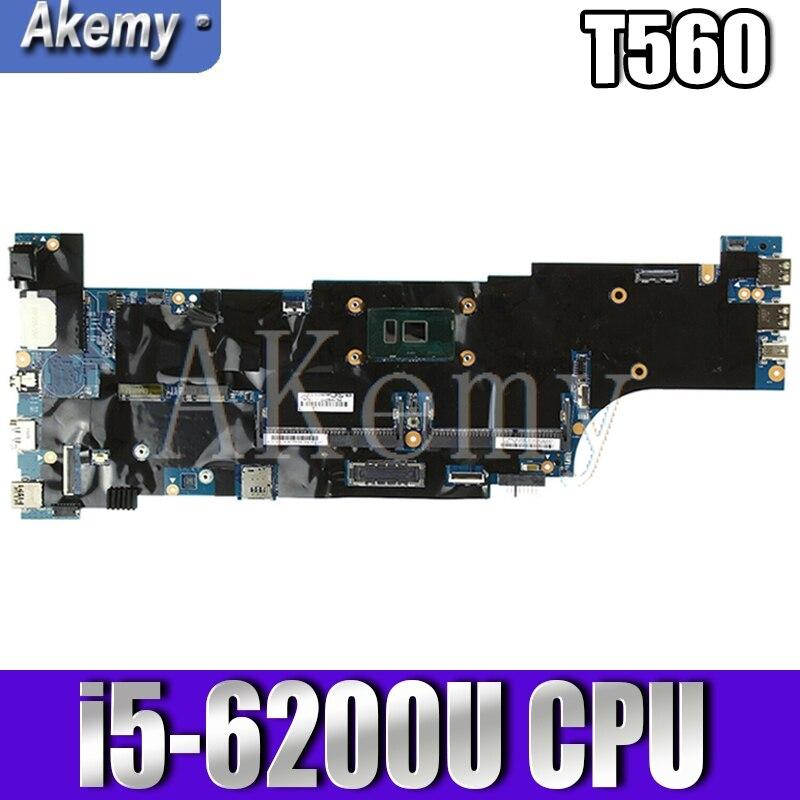 العلامة التجارية جديد T560 اللوحة ل For Lenovo ثينك باد T560 اللوحة المحمول مع I5-6200U 01AY308 اختبار 100%