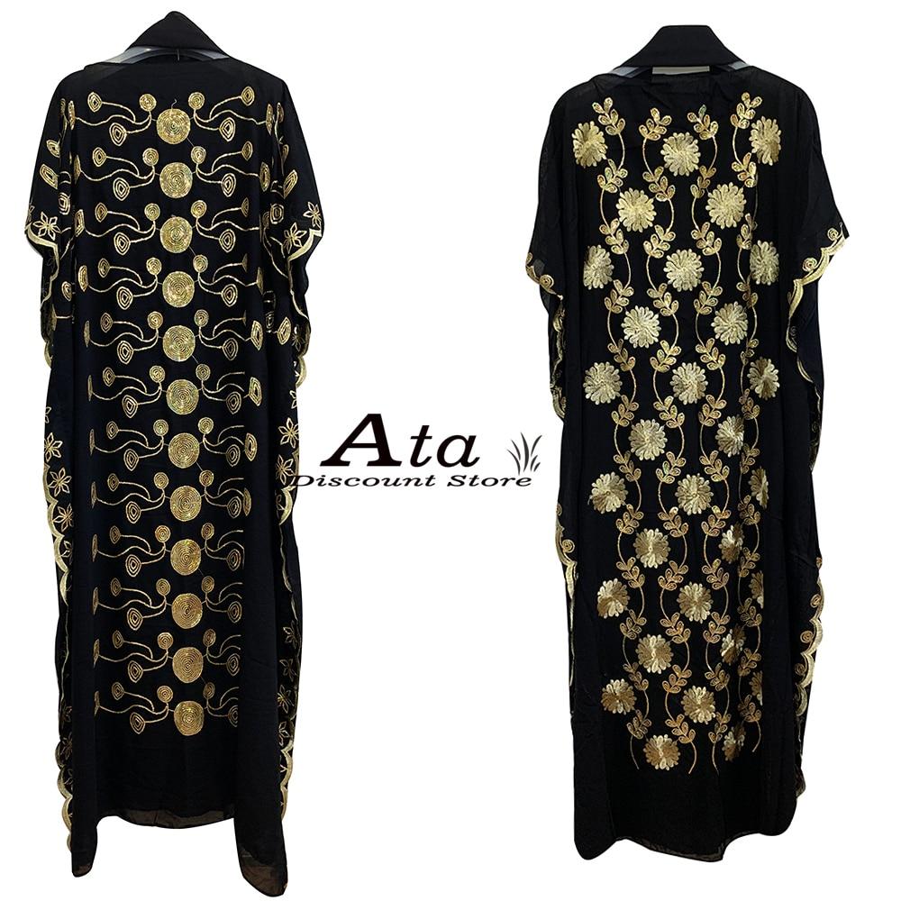 Vestido caftán Abaya de gasa para mujer, Túnica de oración de verano...