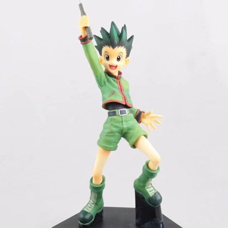 Anime HUNTER X modelo de cazador muñeca Gon Freecss Killua Zoldyck juguetes HUNTERxHUNTER figura DE ACCIÓN DE HXH Fan del cómic colección de 20cm