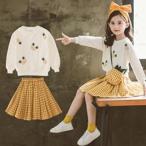Girls Clothing Sets Spring Autumn Children Sports Suits Kids Long Sleeve T-shirt +pants Girl Outwear Clothes Sets 2pcs