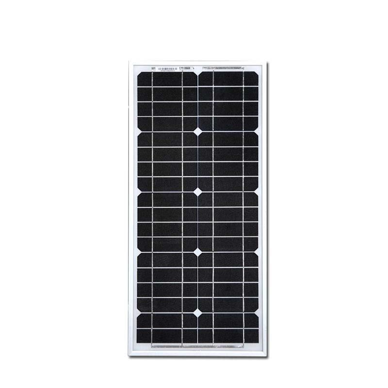 Solar Panel 20w 40w 60w 80w 100w 12v Sun Battery Charger TV Fan Light Lamp Caravan Camping Car Motorhome Rv Off Grid Laptop