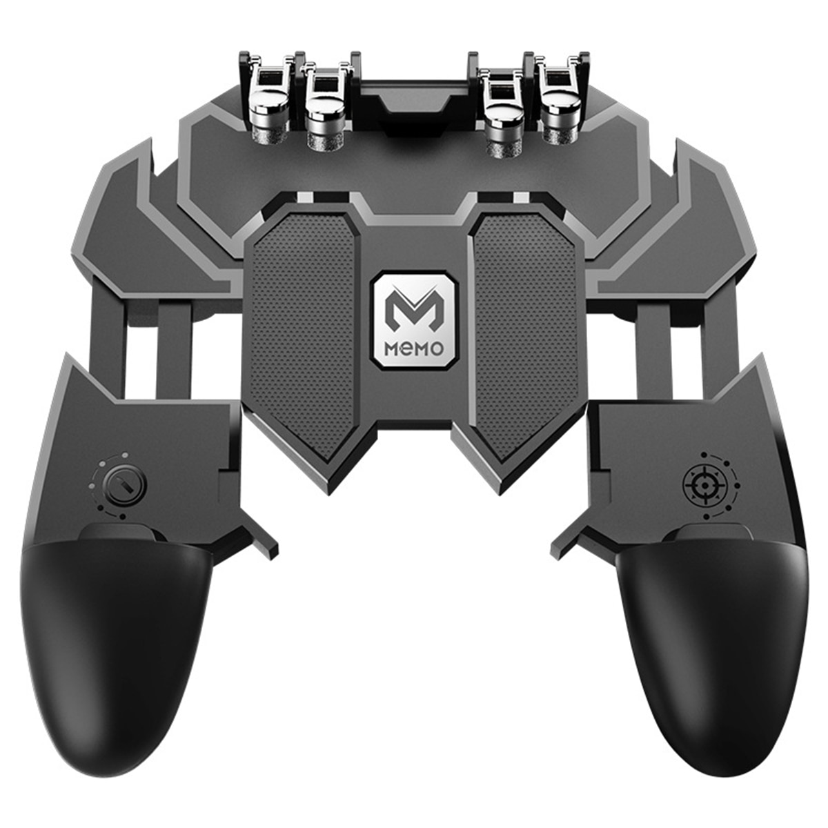 Mando de Gaming con Joystick para teléfono móvil, mando de Gamepad portátil, mando Reversible para juego PUBG