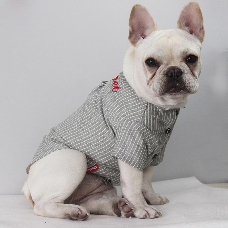 Одежда для домашних животных, рубашка с вышивкой, одежда для больших домашних животных, товары для домашних животных