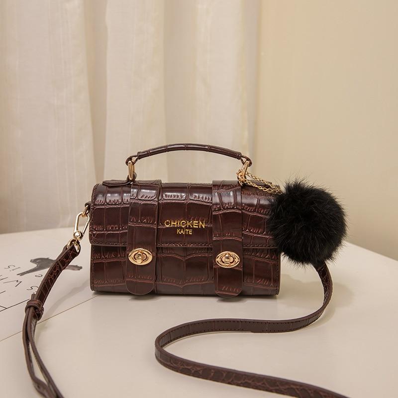 Bolso de hombro español para mujer, bolsa pequeña de moda de estilo...