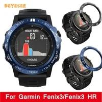 anti scratch new protection for garmin fenix3fenix3 hr watch replacement sport frame smartwatch screen metal case accessories