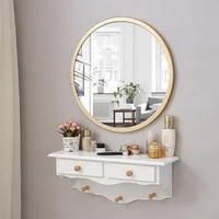 nordic wall mounted dressing table mirror bedroom mini dressing table net red dressing table home decoration mirror