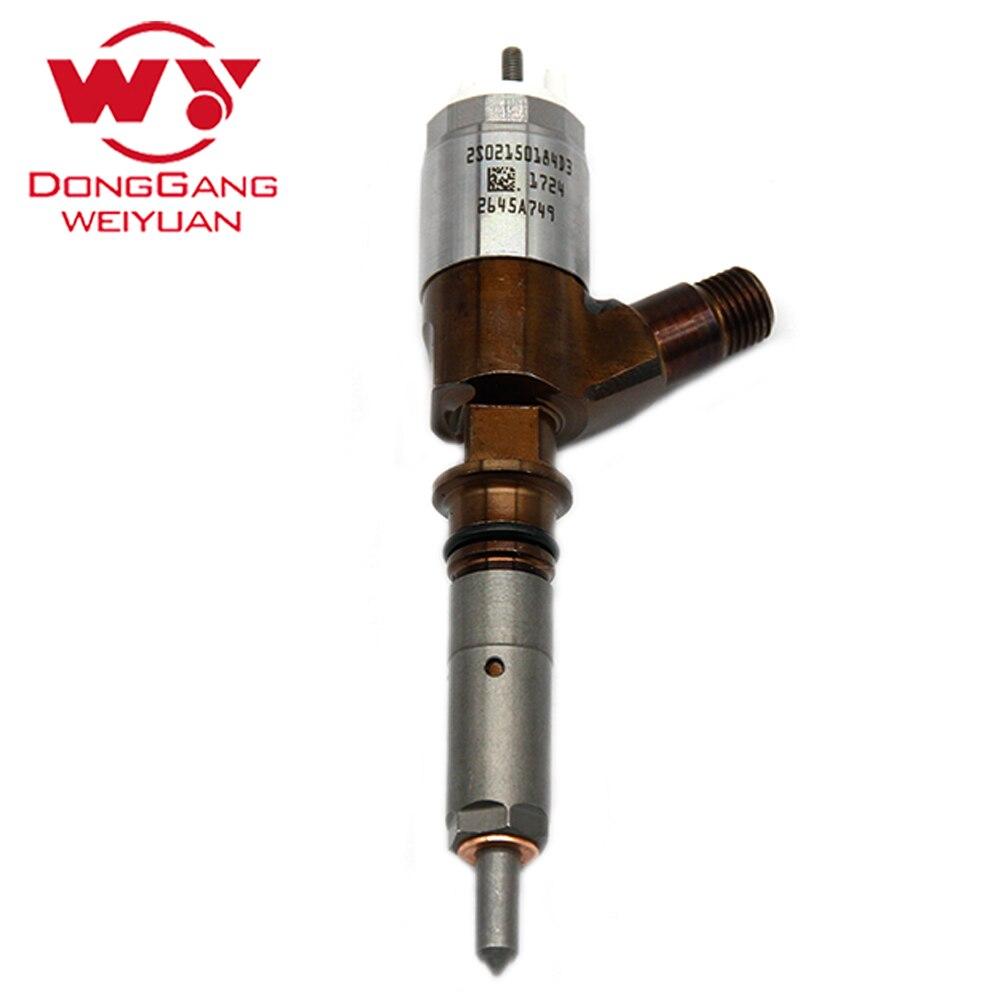 Inyector de combustible Diesel para excavadora 2645A749, reconstrucción de inyector 320-0690 para CAT, para motor C6.6