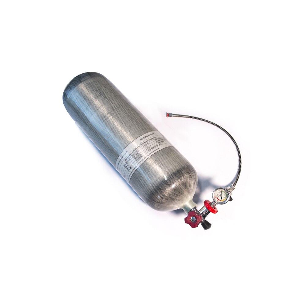 Баллоны ALSAFE высокого давления HPA, баллоны для дыхания сжатого воздуха CE