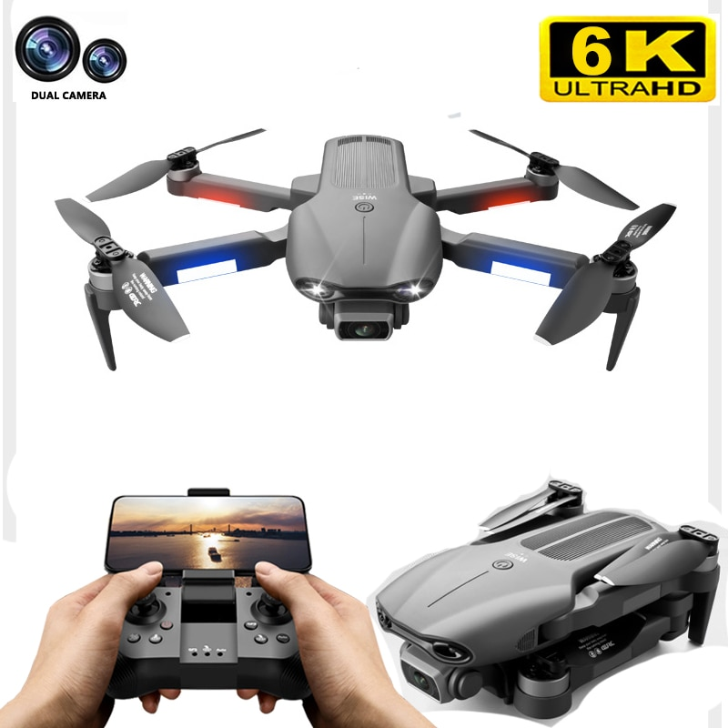 2021 New F9 Drone GPS 5G Wifi 6K Dual HD Camera Professional Aerial Photography Drones Brushless Motor Foldable Quadcopter Toys