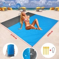 camping mat waterproof beach blanket portable folding sleeping bed pad outdoor cushions grounding mattress picnic pocket carpe