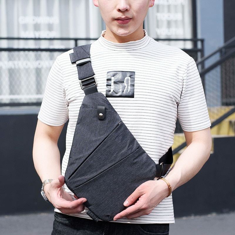 Bolso Digital, bolso de lona para hombre, bolsos de hombro para hombre, multifunción, personal de negocios para viajar