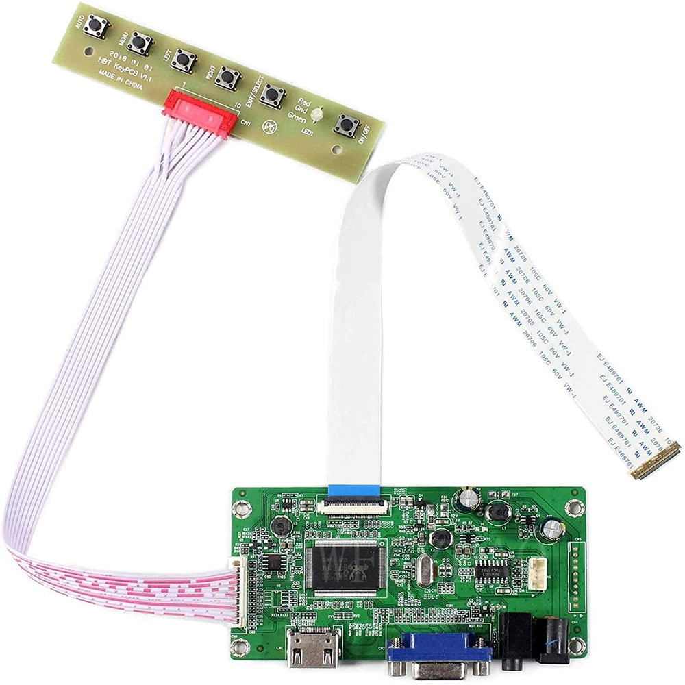 New EDP Control Board Monitor Kit for NT156WHM-N12 NT156WHM-N21 NT156WHM-N22 HDMI+VGA LCD LED screen Controller Board Driver