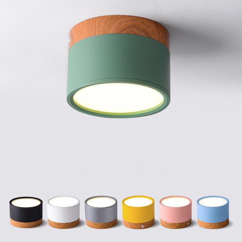 LED النازل عكس الضوء 5 واط 7 واط 9W12W15W الشمال الخشب الحديثة Led نظام تعليق في السقف ضوء الأضواء ، الديكور الداخلي ضوء