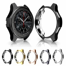 Funda protectora para Samsung Galaxy watch, 46mm, 42mm, band Gear S3 frontier, carcasa envolvente de TPU de repuesto, 22mm