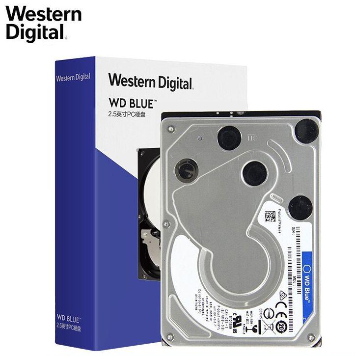 ويسترن ديجيتال WD الأزرق 4 تيرا بايت المحمول القرص الصلب 15 مللي متر 5400 RPM SATA 6 جيجابايت/ثانية 8MB مخبأ 2.5 بوصة للكمبيوتر WD40NPZZ
