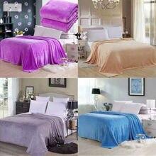 Nueva moda pequeña Super caliente sólido caliente Micro Manta polar de felpa alfombra de tiro sofá ropa de cama