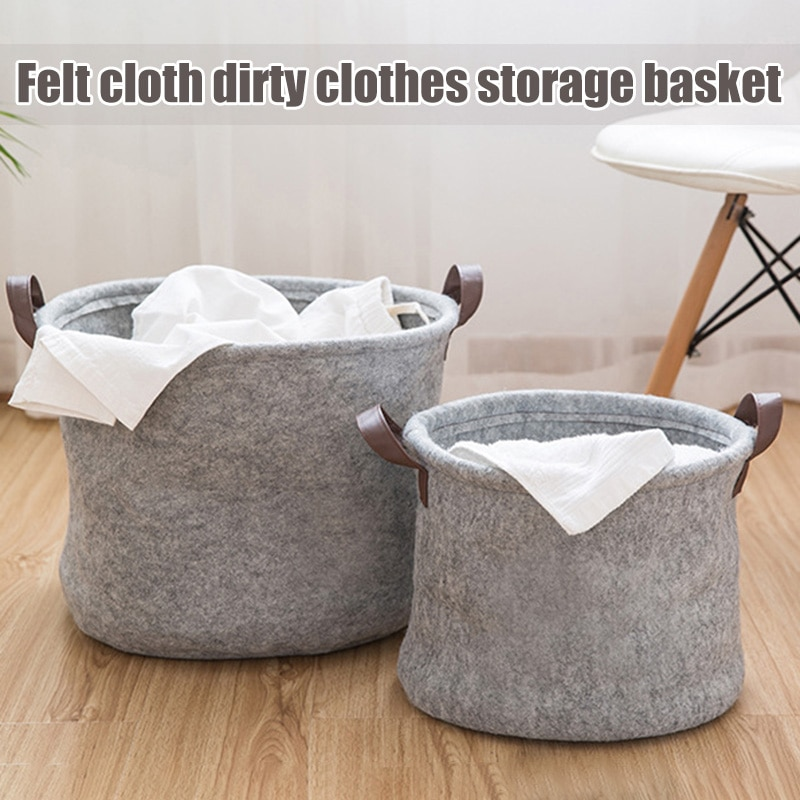 Organizador cesta de almacenamiento solución de almacenamiento conveniente para oficina dormitorio lavandería FAS6