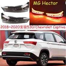 car bupmer taillight for MG Hector rear light Captiva brake LED 2018~2021year car accessories taillamp for BaoJun 530 rear light