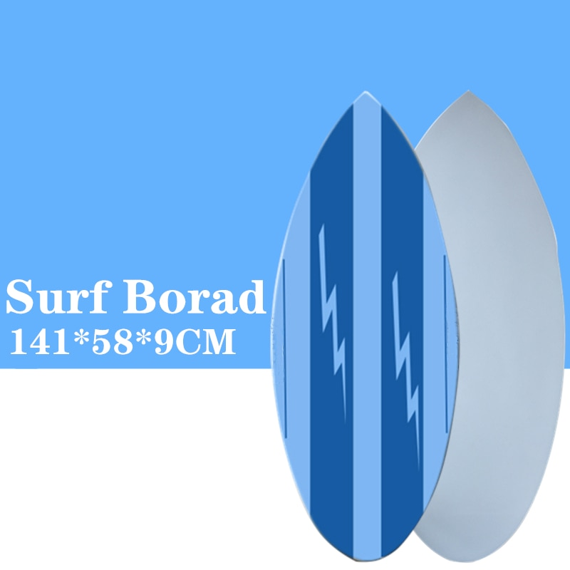 Surf board in Surfing Skimboard  2021 New style Blue color surfboard Let you have a great surfing experience.