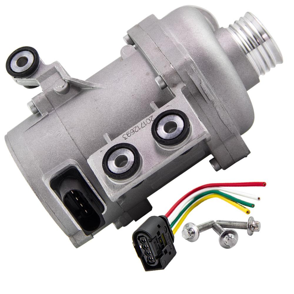 Bomba de agua de motor eléctrico + pernos para BMW X3 X5 328i 128i 528i 528xi 11517586925, 11510392553, 11517546994