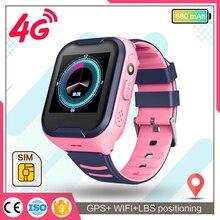 smart watch kids GPS 4g WIFI IP67 Waterproof Child Students Smartwatch Video Call Monitor Tracker Lo