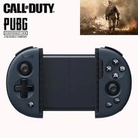 2021 mini wireless bluetooth game controller pubg joystick mobile retractable gamepad for androidiospc fpsns games