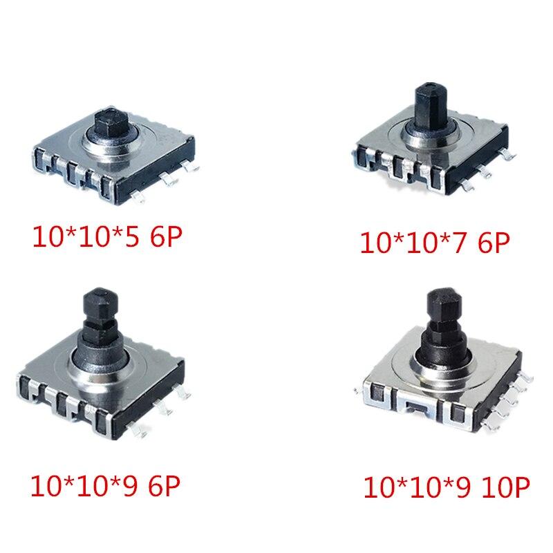 10*10*5/7/9 SMD 5 пятиходовой переключатель 10x10x5 7 9 мм многофункциональный Переключатель направления сенсорная кнопка сброса 6p 10p
