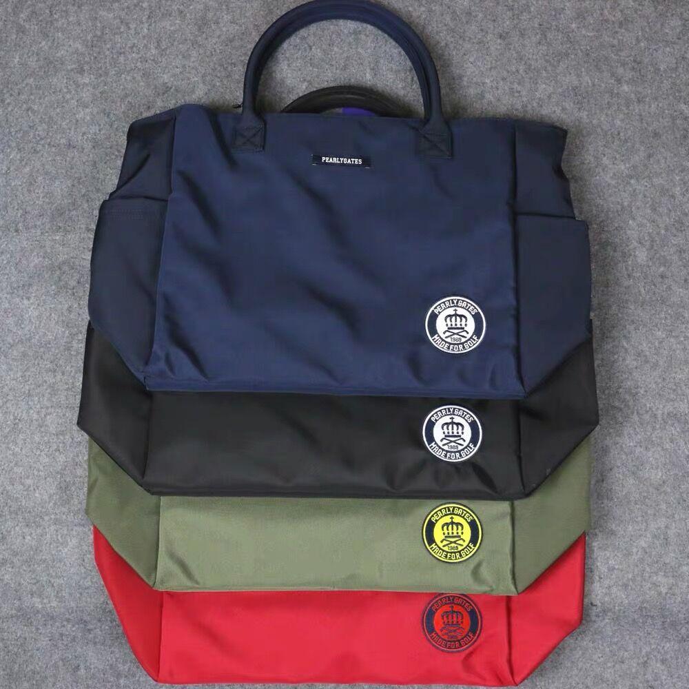 PG Fashion Golf Clothing Bag Canvas Composite Large Capacity Storage Bag