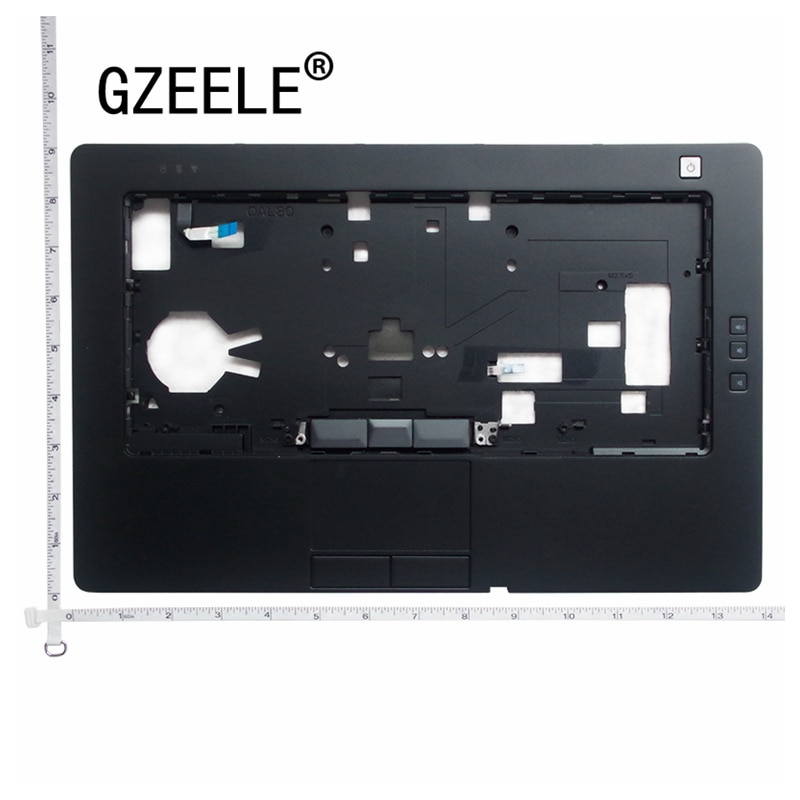 GZEELE-جراب كمبيوتر محمول جديد لجهاز Dell Latitude E6430 ، غطاء علوي لمسند المعصم ، 35H7M KB ، مع لوحة لمس FPR 0RFTGT C8MT7