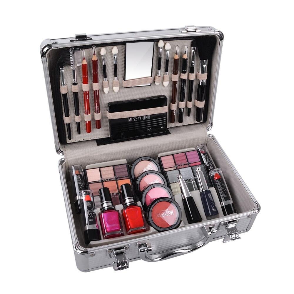 TSMC Kit de maquillage Kit de maquillage coffret de maquillage professionnel complet Kit de maquillage professionnel maquillage femmes rouge à lèvres liquide livraison directe