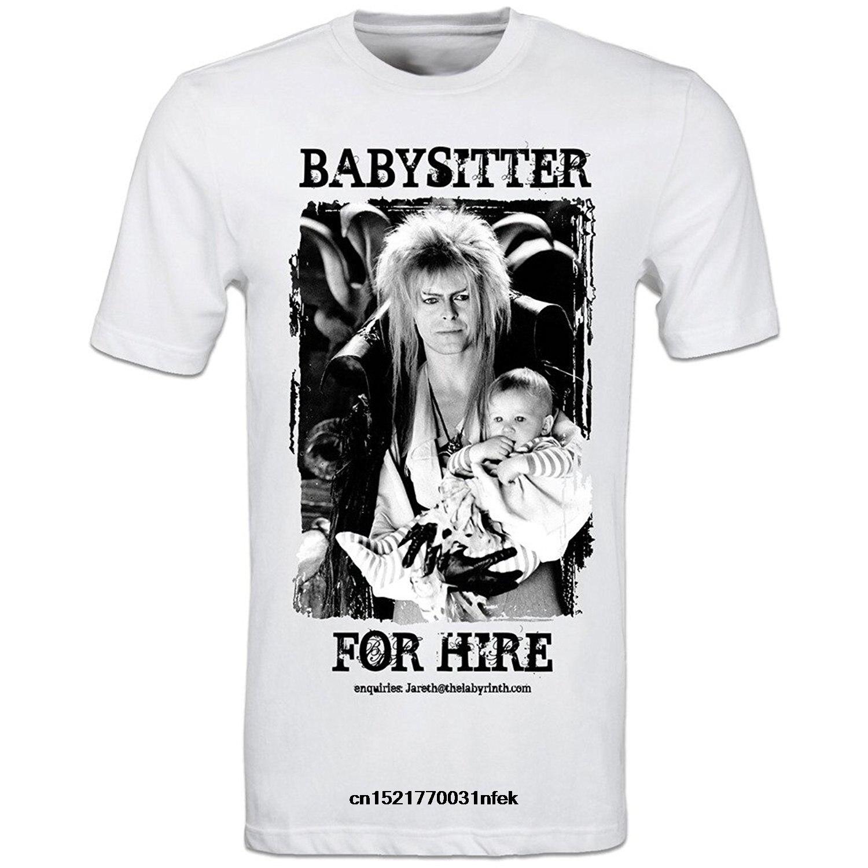 Camisa de t masculina david bowie labirinto filme jareth a babá moda engraçado camiseta novidade camiseta feminina