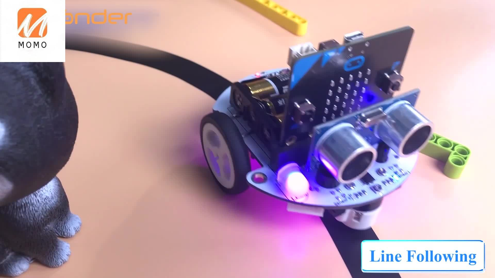 New Arrival Hiwonder Microbot Car Micro:bit Controller STEAM Beginner Coding and Learning with Wholesale Price