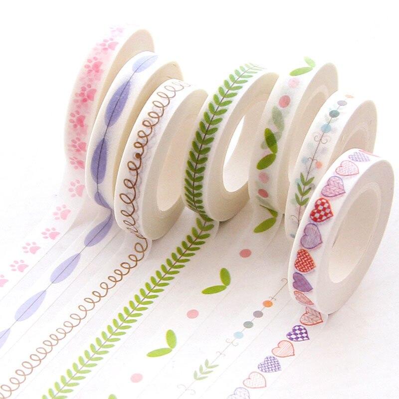AliExpress - 10M Divider Cute Kawaii  Washi Tape Set Journal Supplies Masking Tapes Washy Organizer Washitape Pastel Korean Stationery