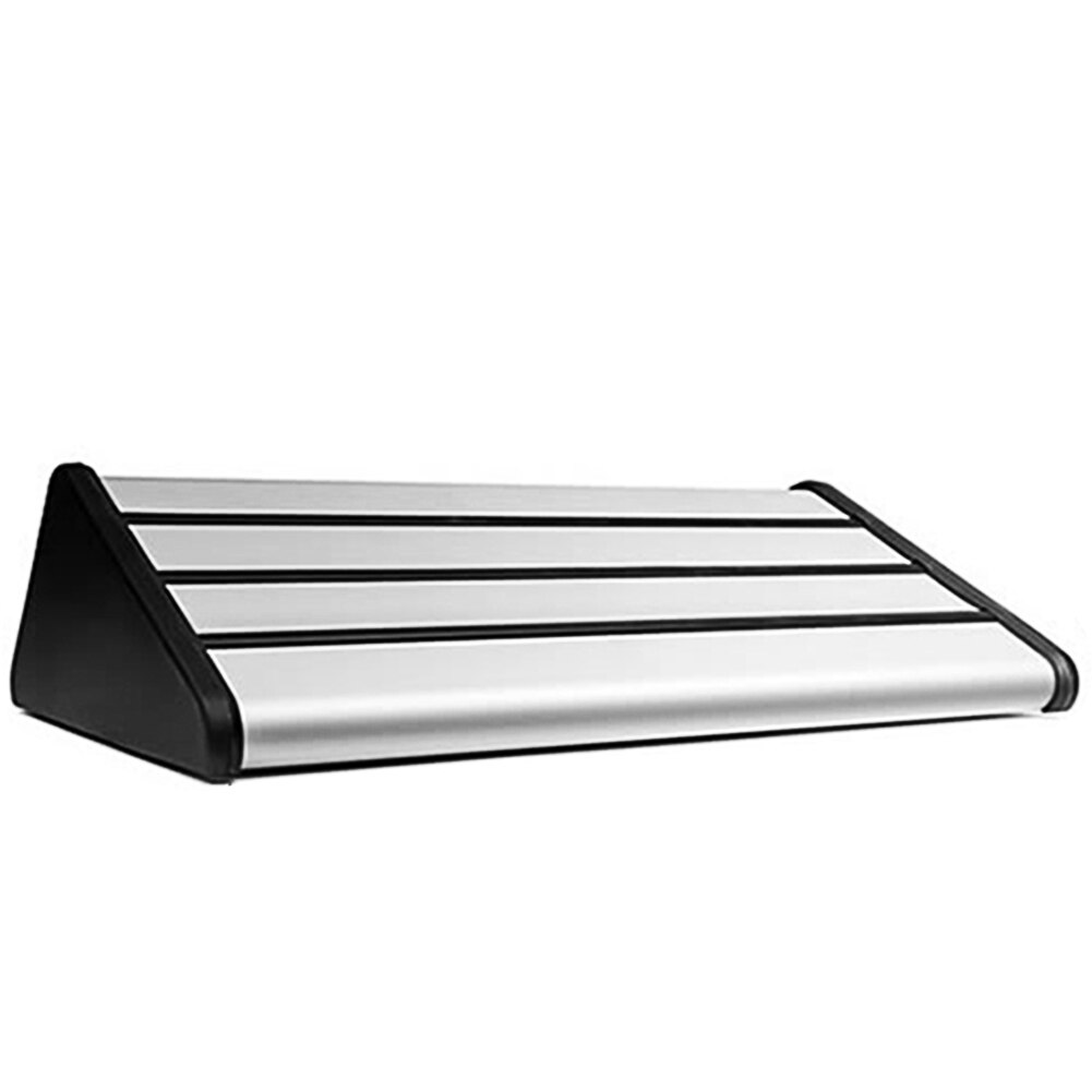 Aleación de aluminio reposapiés reclinable asiento trasero antideslizante Auto portátil Universal fácil de instalar Pedal de coche para pasajero