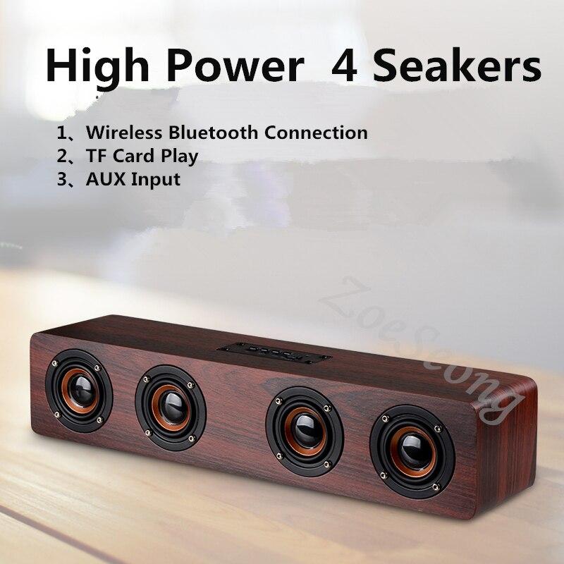 Wireless Bluetooth speaker SoundBar TV computer speaker Home theater system alarm clock radio suppor