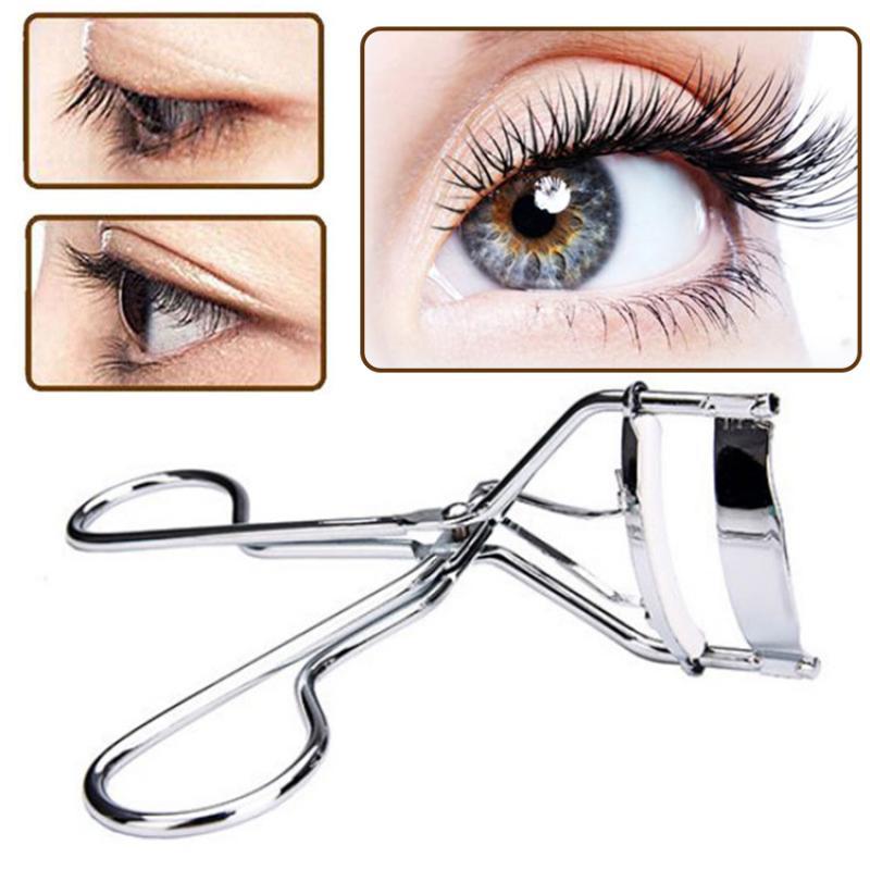 Eyelash Curler Powerful Long-Lasting Eye Lashes Curler Fake Eyelash Tweezer Beginner Friendly Makeup