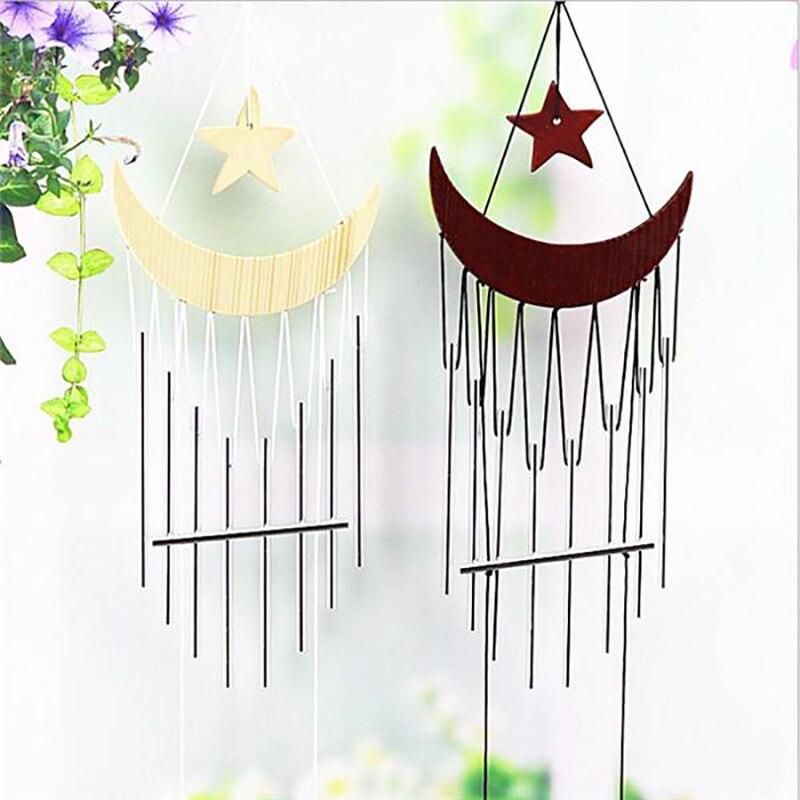 Carillon Windspiele Die Musik Von Wind Glockenspiel Garten Wind Chime Musik Metall Glocken Landschaft Sound Wind Rohre Holz