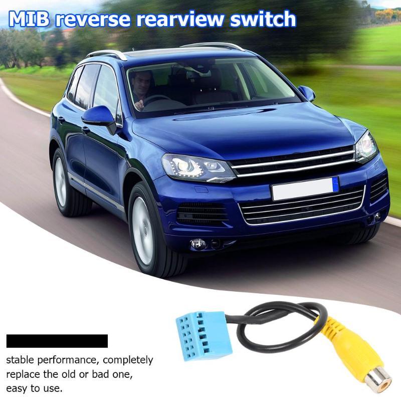 Passat Kunststoff + Metall Rückansicht Kamera Kabel Adapter Ersatz für Volkswagen Stabile Leistung Tragen Um Bequem