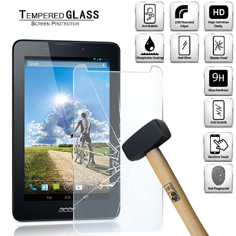 Protector de pantalla de vidrio templado para tableta Acer Iconia Tab 7...