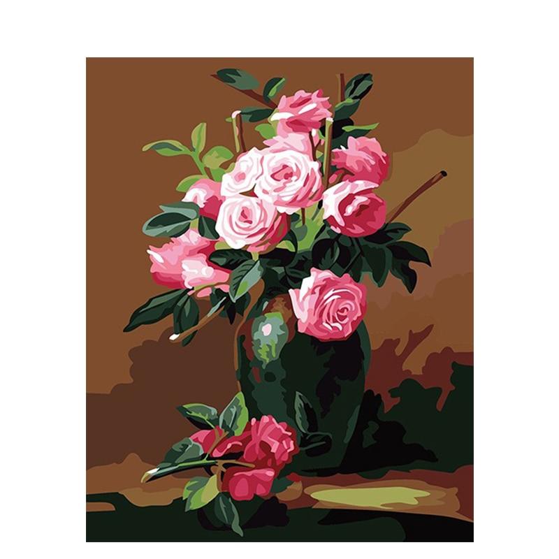 Pintura de flores absolutas hecha a mano lienzo de alta calidad hermosa...