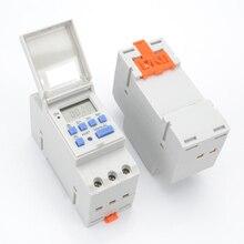 Programmable numérique 7 jours minuterie commutateur relais contrôle 220V 230V 6A 10A 16A 20A 25A 30A électronique hebdomadaire
