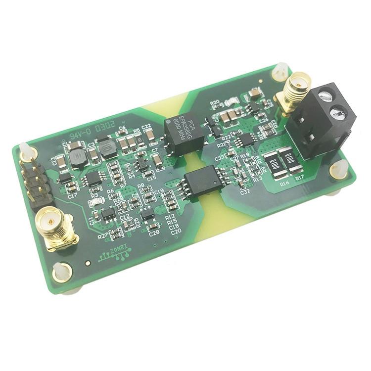 وحدة عزل إشارة التيار/الجهد التناظري عالية الدقة AMC1301 plus أو minus5V plus أو minus 5A/200KHz ، عرض النطاق الترددي ISO