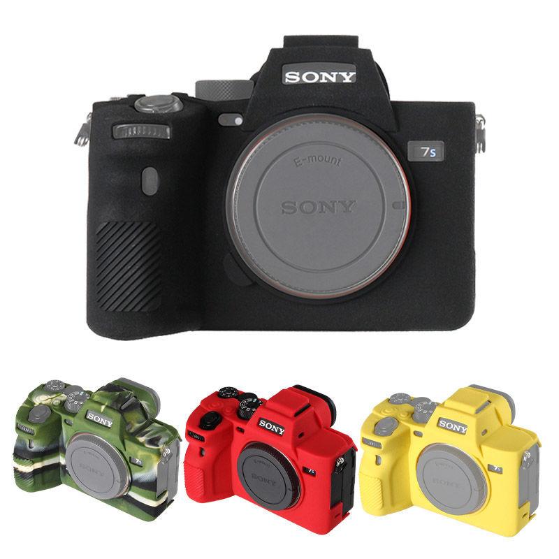 لسوني A7S3 A7SIII سيليكون المطاط كاميرا واقية الجسم حافظة جلدية حقيبة كاميرا غطاء حامي