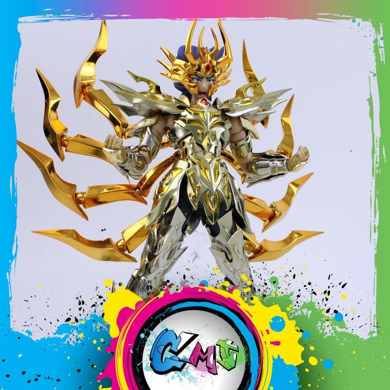 В наличии GreatToys EX Cancer Deathmask Saint Seiya металлическая Броня Миф Ткань Золотая экс фигурка