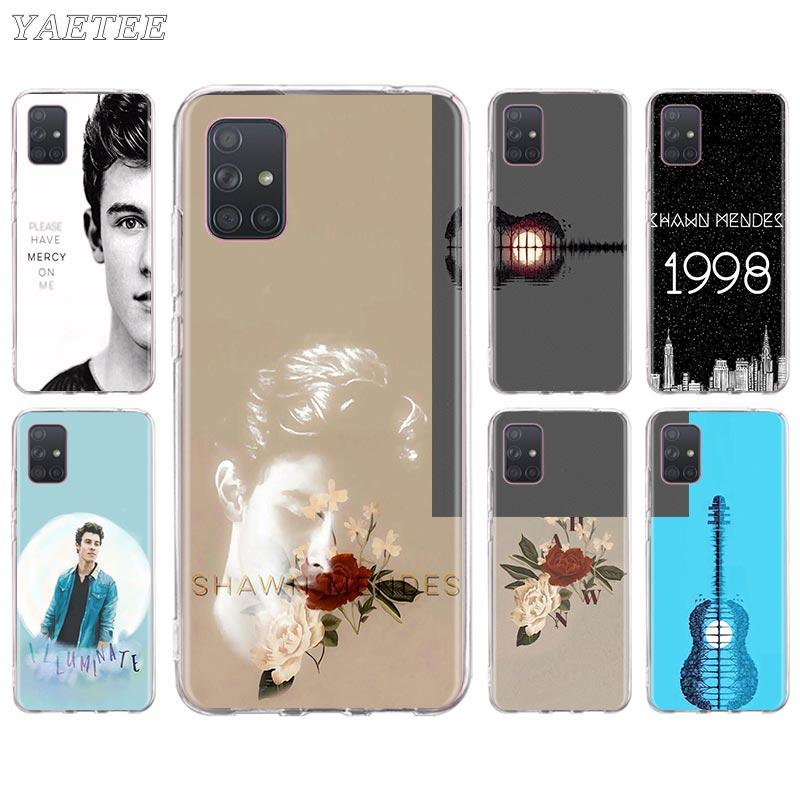 Shawn Mendes 98 caso de teléfono para Samsung Galaxy A51 A71 5G A50 A70 A11 A21s A31 A41 A91 A20e A30 cuántica cubierta suave