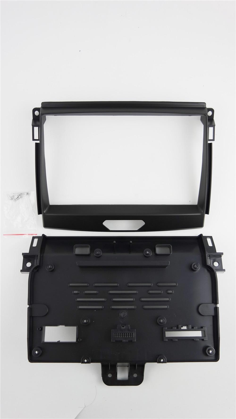 Special 9inch Car Radio Fascia Dash Trim Kit for Ford Everest for Ford Ranger 2015+ Stereo DVD Player Refitting Frame