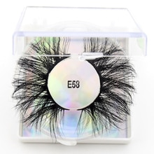 Visofree 5D vison cils 25mm cils dramatiques longs épais vison cils flutterie faux cils sans cruauté maquillage cils E58